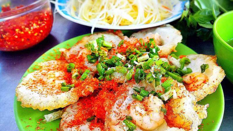 bánh khọt ngon ở Vũng Tàu