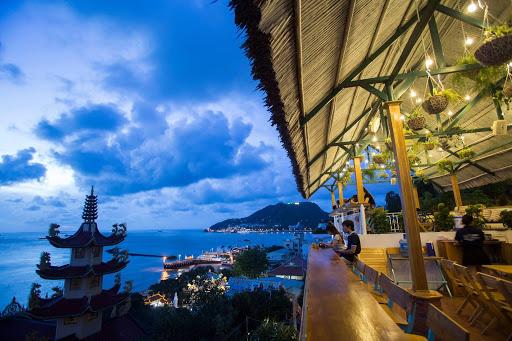 cafe Vũng Tàu view biển
