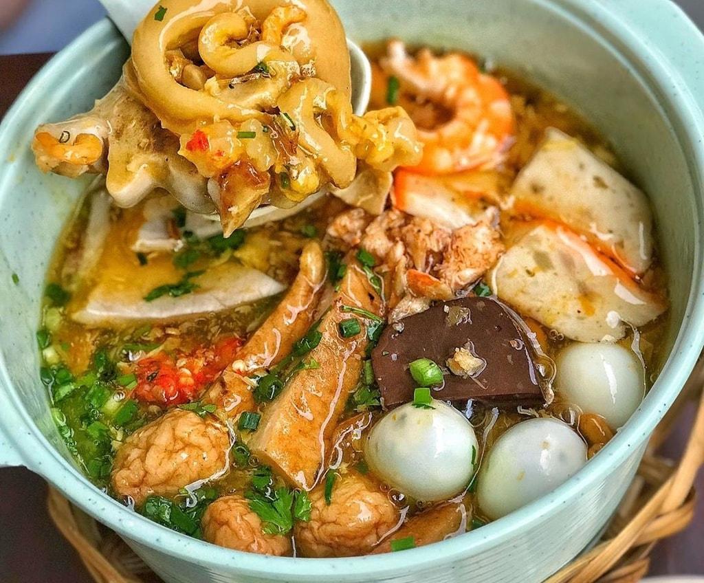 quán ăn bình dân ở Vũng Tàu